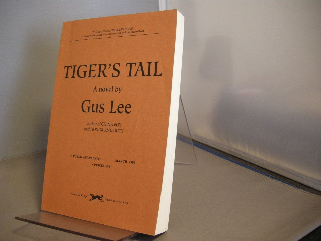 Image for Tiger's Tail