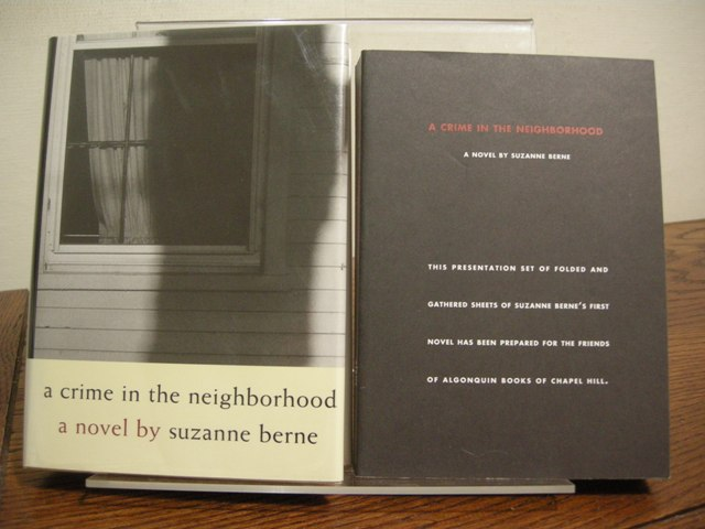 Image for A Crime in the Neighborhood (Includes Signed Uncorrected Proof)