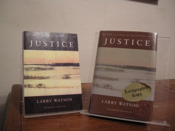 Image for Justice (Includes Signed Advance Reading Copy)