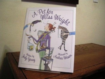 Image for A Pet for Miss Wright