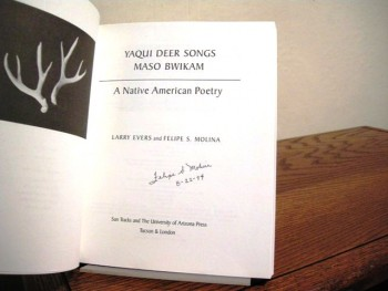 Image for Yaqui Deer Songs/Maso Bwikam: A Native American Poetry