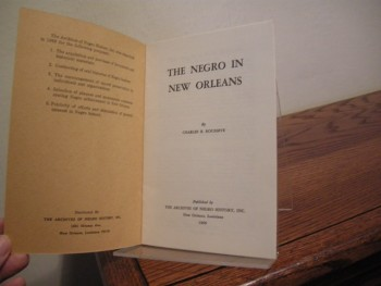 Image for The Negro in New Orleans