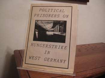 Image for Political Prisoners on Hungerstrike in West Germany