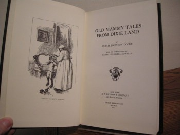 Image for Old Mammy Tales from Dixie Land