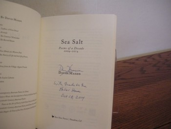 Image for Sea Salt: Poems of a Decade, 2004-2014