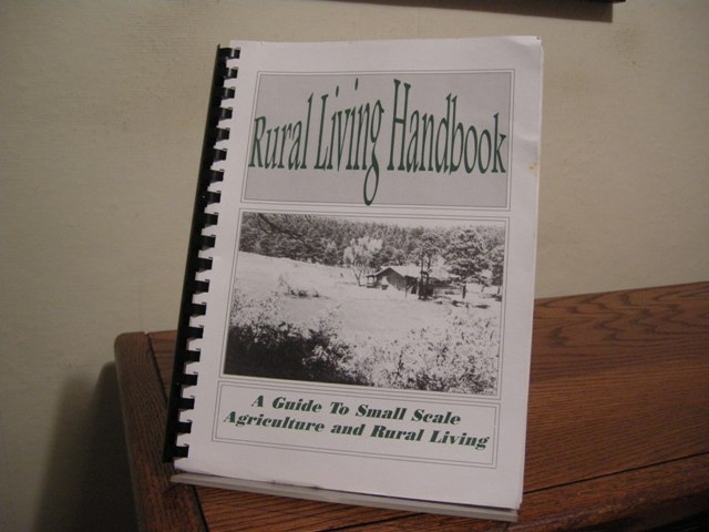 Image for Rural Living Handbook: A Guide to Small Scale Agriculture and Rural Living [Colorado]