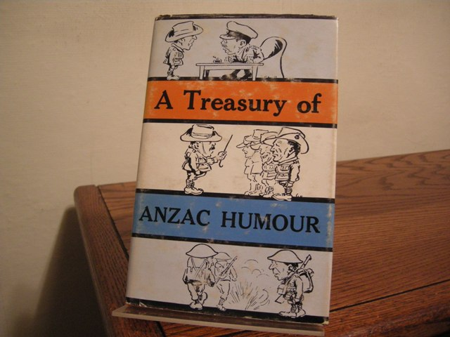 Image for A Treasury of Anzac Humour