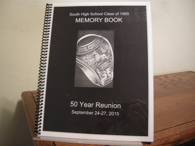 Image for South High School Class of 1965 Memory Book: 50 Year Reunion September 24-27, 2015
