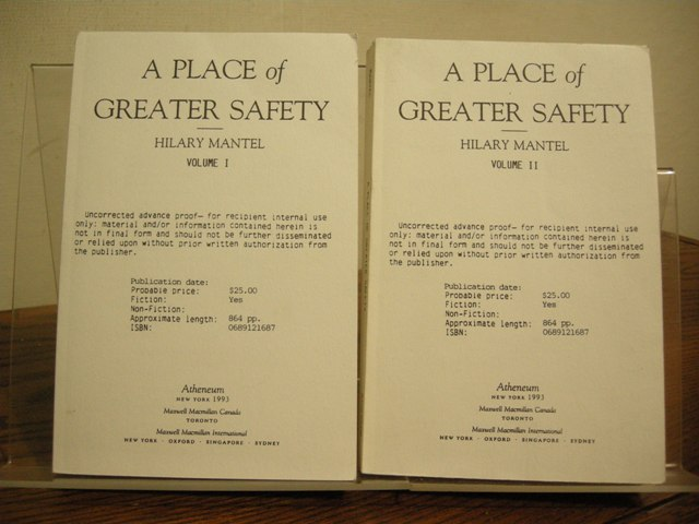 Image for A Place of Greater Safety (Two Volumes)