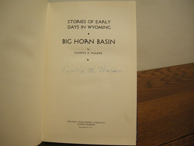 Image for Stories of Early Days in Wyoming: Big Horn Basin