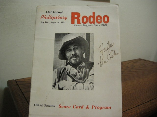 Image for 41st Annual Phillipsburg Rodeo Official Souvenir Score Card & Program: July 30-31, August 1-2, 1970