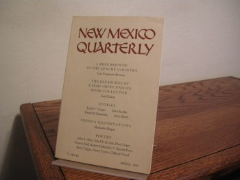 Image for New Mexico Quarterly (Early Stuart Kaminsky Appearance)
