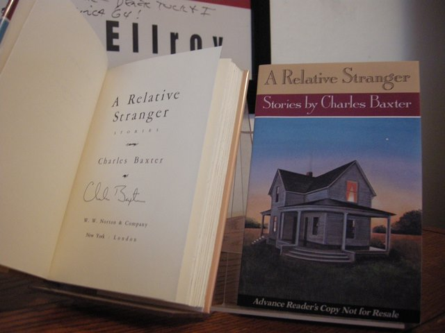 Image for A Relative Stranger (Includes Signed Advance Reading Copy)