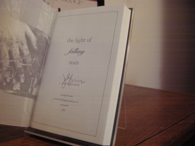Image for The Light of Falling Stars (Includes Signed Uncorrected Proof)