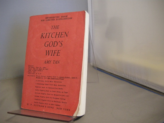 Image for The Kitchen God's Wife (Includes Signed Uncorrected Proof)